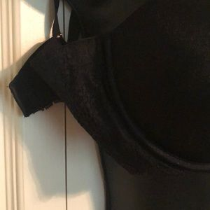 PINK Victoria's Secret Intimates & Sleepwear - Victoria's Secret Pink Black Strapless Push-up Bra